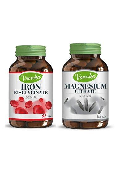 Voonka Iron Bisglycinate & Magnesıum Cıtrate