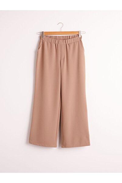 LC Waikiki Kadın Açık Kahverengi Pantolon 0WIA35Z8