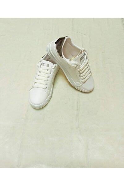 DMR Kadın Beyaz Spor Ayakkabı