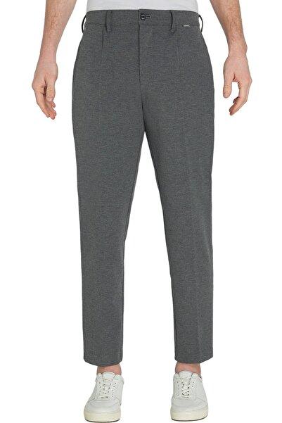 Calvin Klein Erkek Gri Pantolon