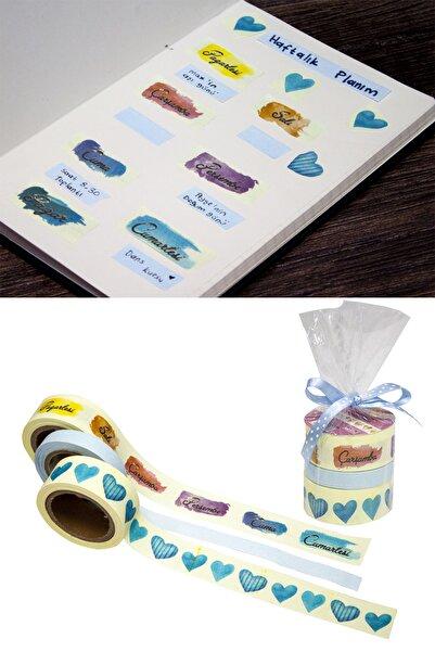 Paste Notes Desenli Yapışkanlı Rulo Bant