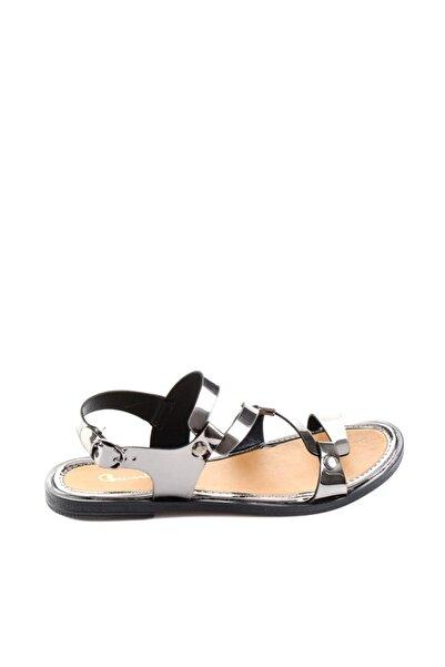 Bambi Kadın Platin Sandalet H0652084539