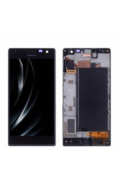 Nokia Lumia 730 Lcd Ekran Dokunmatik Öncam Çıtalı