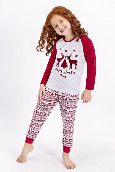 ROLY POLY Karamelanj Happy Winter Day Kız Çocuk Pijama Takımı