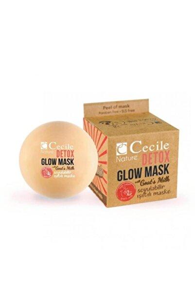Cecile Nature Detox Glow Maske Keçi Sütlü Soyulabilir Işıltılı