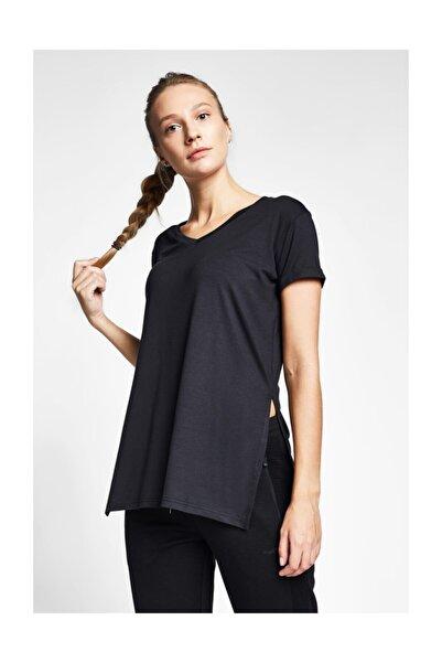 Lescon Kadın Siyah T-shirt 20b-2028