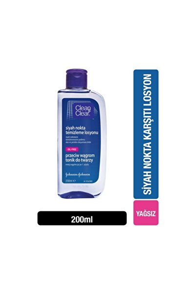 Clean & Clear Clear&clean Siyah Nokta Temizleme Losyonu 200 Ml