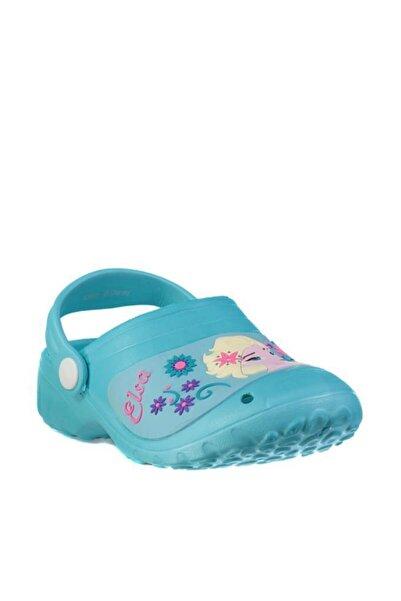 Disney Frozen Kız Çocuk Mavi Terlik Sandalet