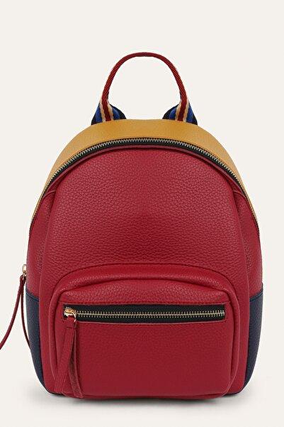Mudo Kadın Multi Renk Renkli Şerit Detaylı Sırt Çantası 1221280