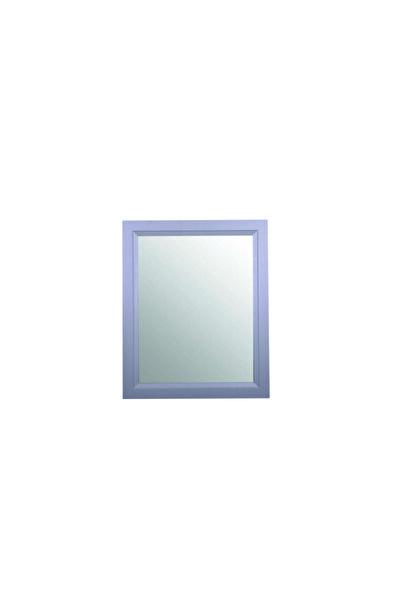 Otto Mirror 90*80 Cm Gri Duvara Asılır Çerçeveli Ayna