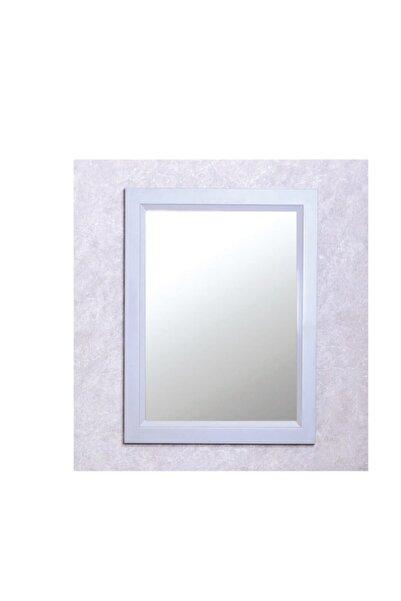 Otto Mirror 120*80 Cm Gri Duvara Asılır Çerçeveli Ayna