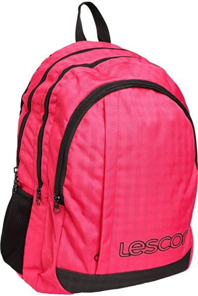Lescon Unisex Pembe Sırt Çantası - 18YKSK0L2080