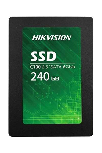 Haikon Hikvision C100 240gb 550mb/s Ssd Disk Hs-ssd-c100/240g