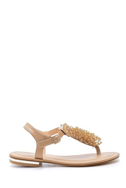 Derimod Kadın Bej Sandalet