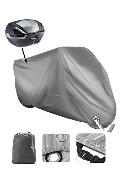 AutoZEL Vespa Gt 250 Vınleks Arka Çanta Uyumlu Kalın   Motor Brandası