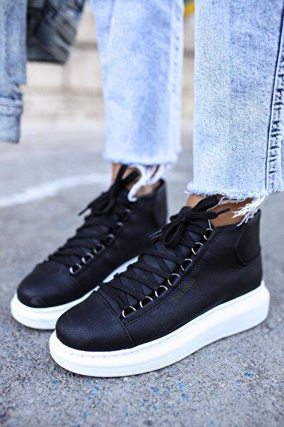 Chekich Ch258 Bt Kadın Sneaker  Siyah