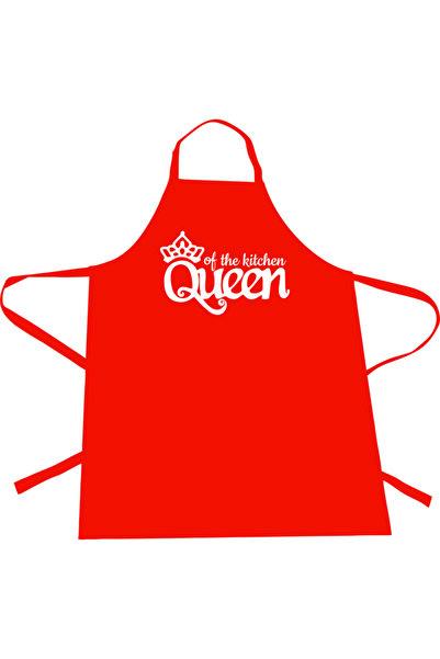 Dolce Mutfak Önlüğü Queen Of Cooking Kırmızı