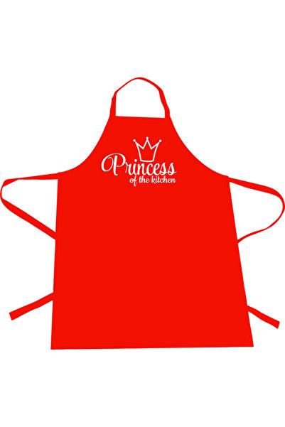 Dolce Mutfak Önlüğü Princess Of The Kitchen Kırmızı