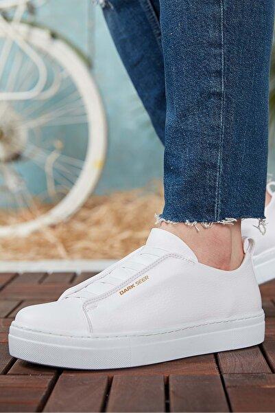 DARK SEER Beyaz Erkek Casual Ayakkabı DS.CHK013