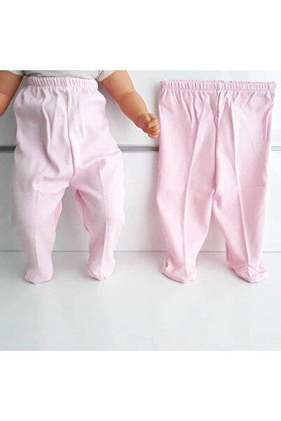 bebegen Patikli Pembe Tek Alt Bebek Penye Pantolon