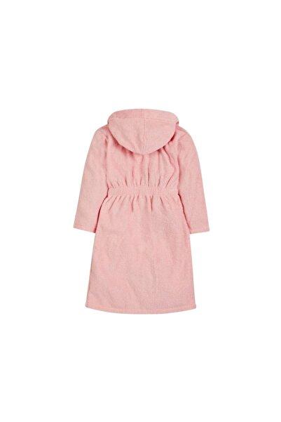 MOTHERCARE Çocuk Pembe Renk Kapüşonlu Pamuklu Bornoz 0-2yaş Pure Cotton