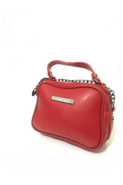 99 Kadın Kırmızı Ayarlanabilir Omuz Askılı Çanta