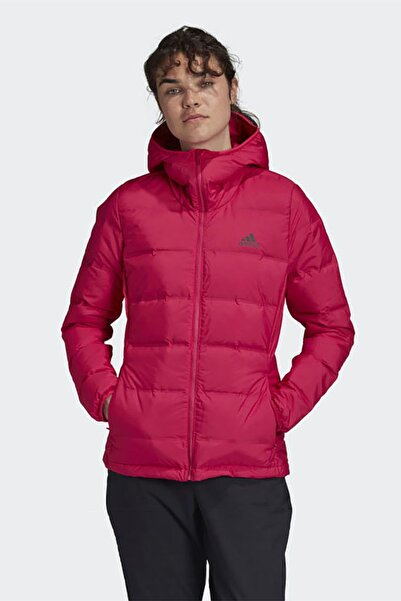 adidas Kadın Pembe Günlük Mont W Helionic Ho J Ge5818