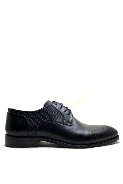 Buffalo Erkek Siyah Classıc Bağcıklı Mıcrolıght Taban Ayakkabı