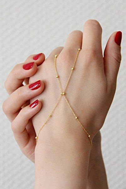 Argentum Concept Kadın Altın Kaplamalı Gümüş Toplu Şahmeran - B078701