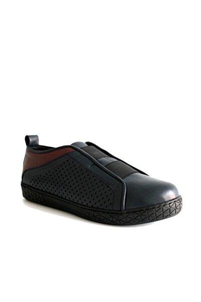 Beta Shoes Kadın Lacivert Ayakkabı