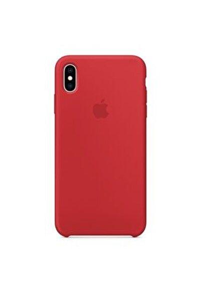 Apple iPhone XS Max Silikon Kılıf Kauçuk Lansman Arka Kapak Koruma