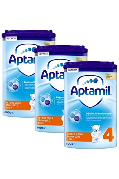 Aptamil 4 800 gr Çocuk Devam Sütü +1yaş 3 lü Paket