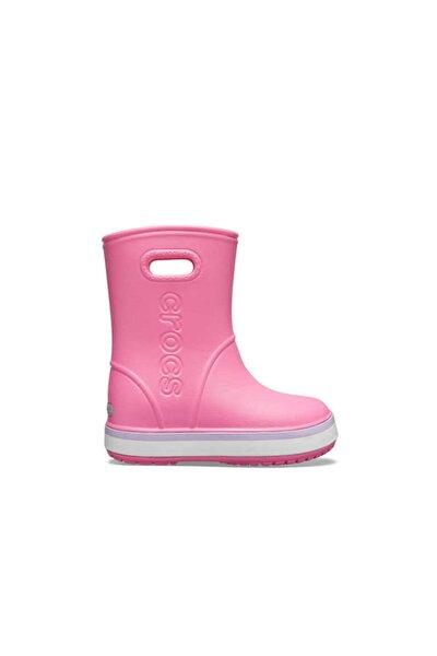 Crocs Unisex Çocuk Pembe  Yağmur Botu 205827-6QM