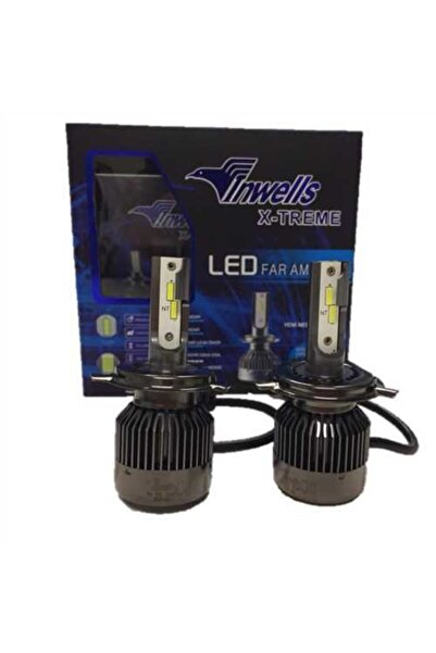 VİNWELLS Tp Turbo Cob Led H4 Metal Sogutmalı