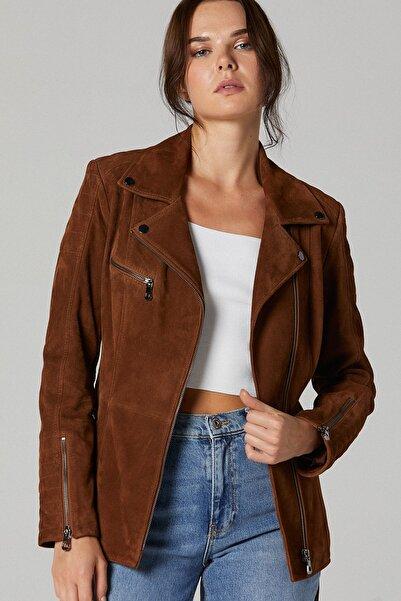 Derimod Mayfair Kadın Süet Deri Ceket