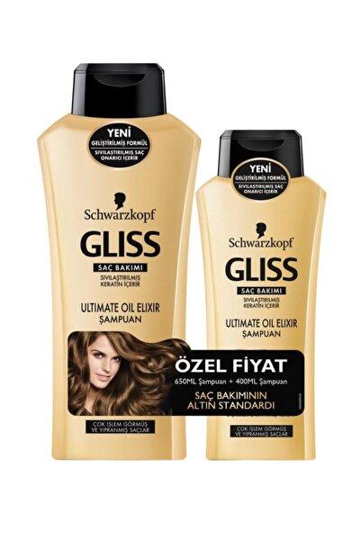 Gliss Ultimate Oil Elixir Şampuan 700 ml ve 200 ml Saç Kremi