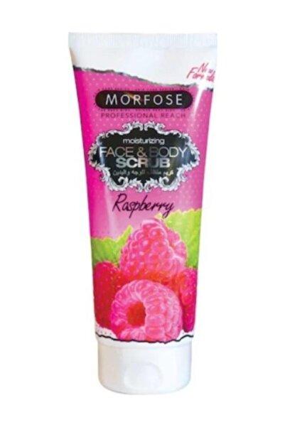 Morfose Face Body Scrub 200  ml Rapsberry