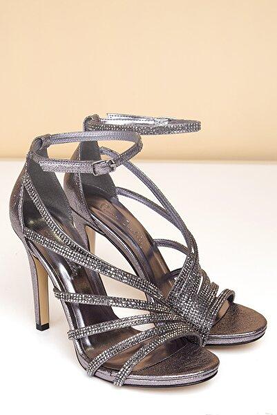 Pierre Cardin Kadın Platin Abiye Ayakkabı Pc-50011