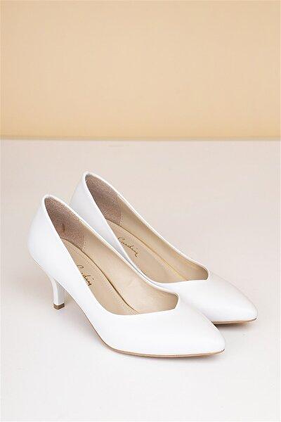 Pierre Cardin Pc-50179 Beyaz Kadın Ayakkabı