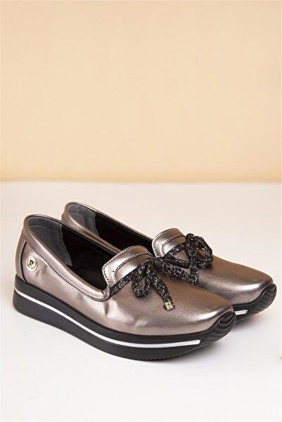 Pierre Cardin Kadın Platin Günlük Ayakkabı  Pc-50085