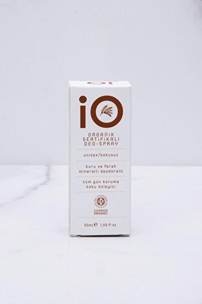 io Organik Sertifikalı Kokusuz   Deo-Sprey Unisex