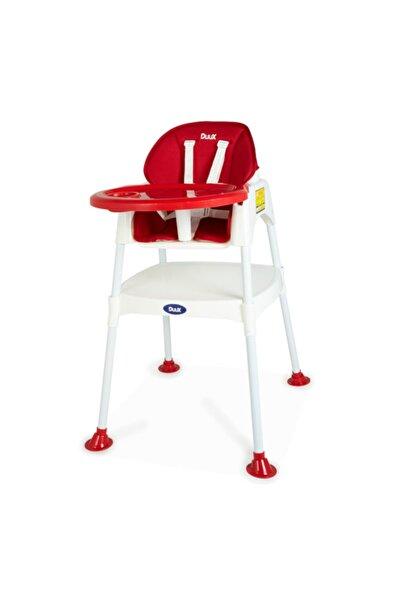 Duux Kırmızı 3ü1 Arada Mama Sandalyesi