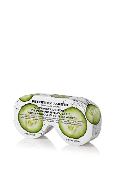 PETER THOMAS ROTH Cucumber De-tox De-puffing Eye Cubes 4 Ml X 6