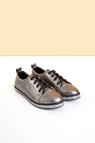 Pierre Cardin Kadın Gümüş Ayakkabı Pc-50616 - 3092-591