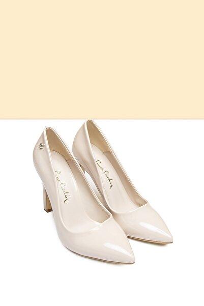 Pierre Cardin Pc-50505 Rugan Bej Kadın Ayakkabı