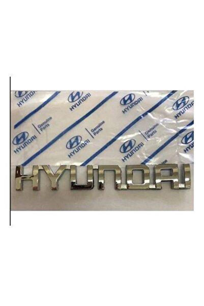 Hyundai Bagaj Yazısı (getz Kasa) -1.5 Cm X 10 Cm Ölçüsünde Küçük Boy-yüksek Kalite-