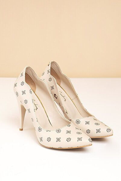 Pierre Cardin Pc-50181 Bej-kahve Kadın Ayakkabı