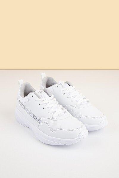 Pierre Cardin Kadın Beyaz Sneaker Pc-30478 - 3319-19
