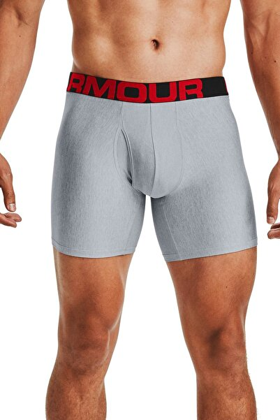 Under Armour Erkek Boxer - Ua Tech 6In 2 Pack - 1363619-011