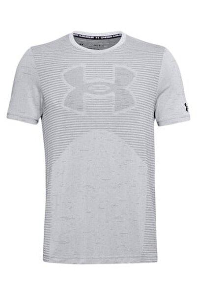 Erkek Spor T-Shirt - Ua Seamless Logo Ss - 1356798-014